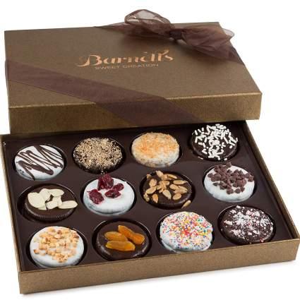 barnett's chocolate cookies gift basket