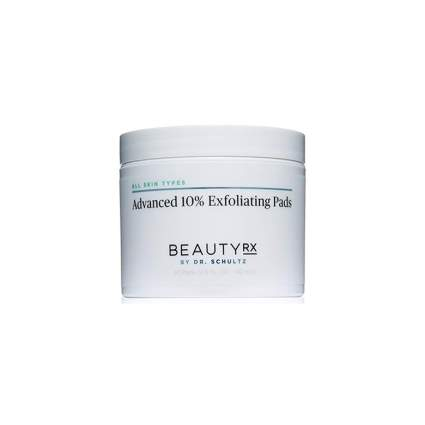 advanced aha exfoliating pads