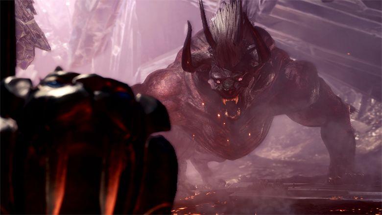 how to beat behemoth monster hunter world