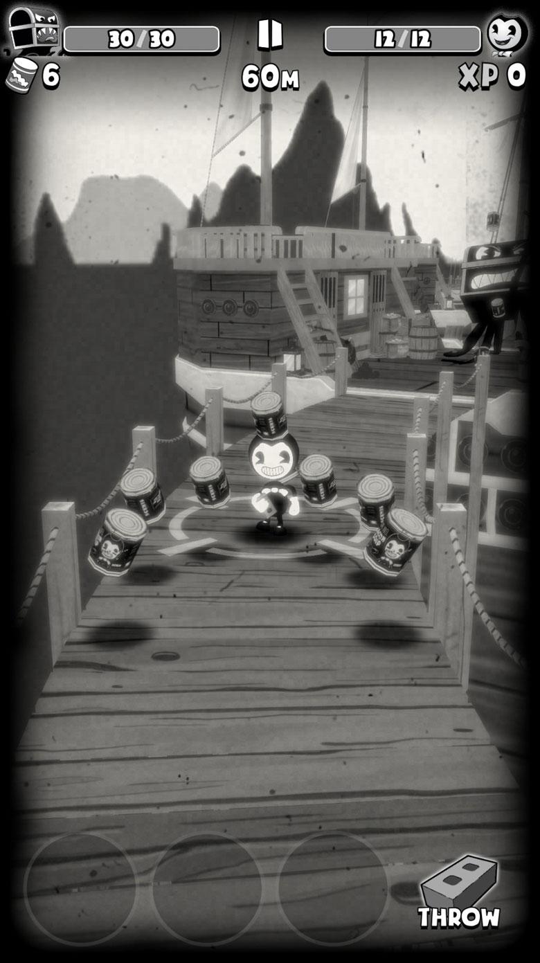 Bendy in Nightmare Run