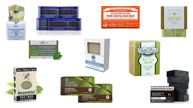 best tea tree oil soap