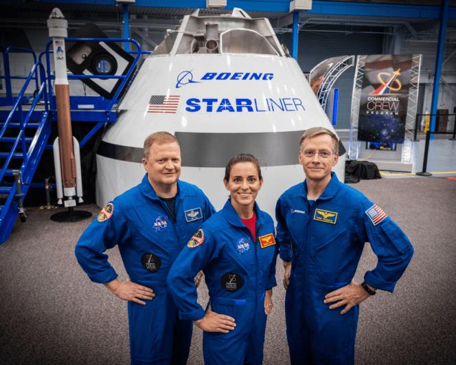Boeing crew
