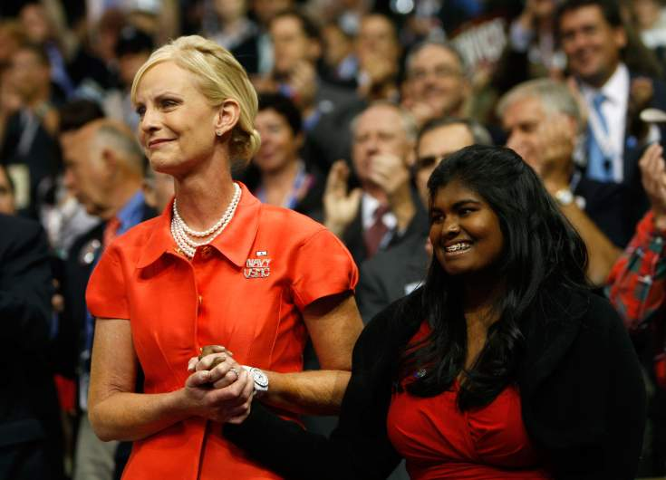 John McCain daughters