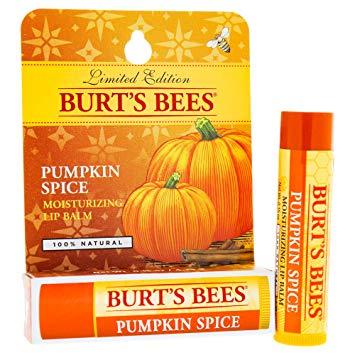 burts bees pumpkin spice lip balm