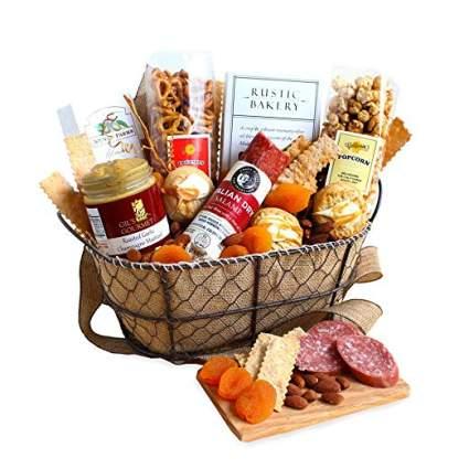 california delicious gourmet gift basket