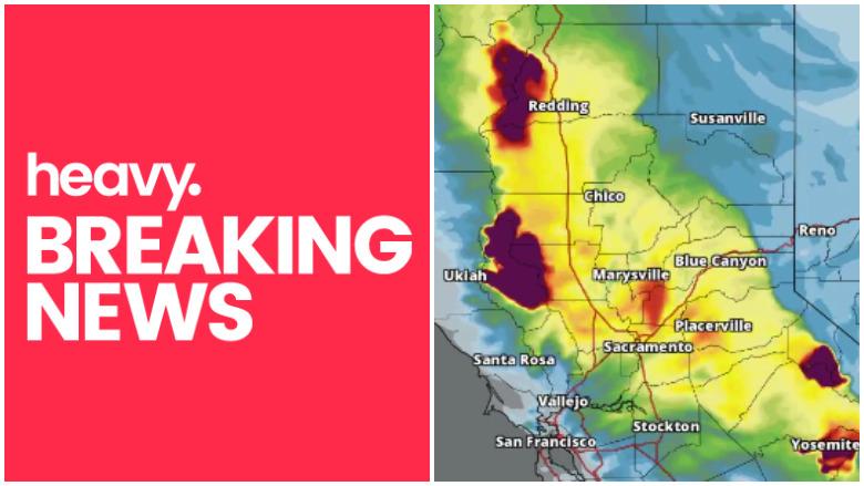 california fire smoke