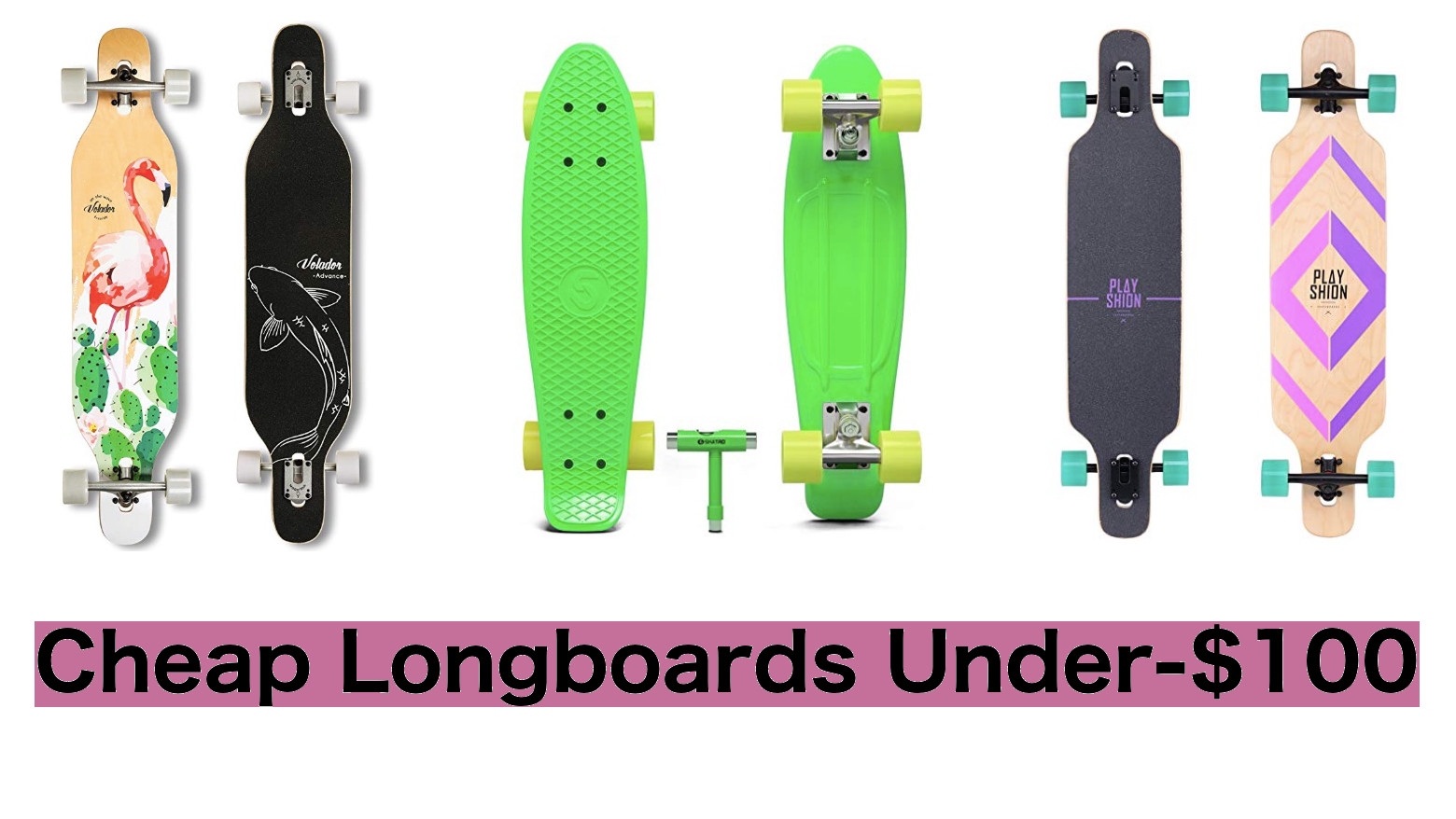 100 x Skateboard Longboard Unterlegscheiben Set
