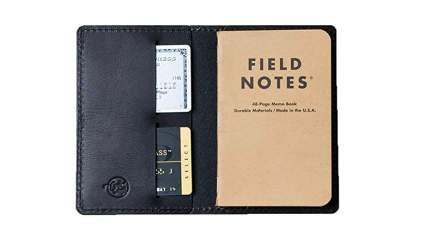 coal creek leather notebook cover