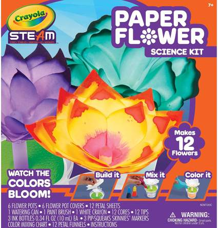 paper flower science kit