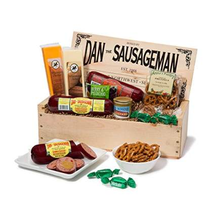dan the sausageman gift basket