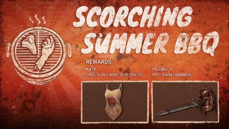 Dead by Daylight Scorching Summer BBQ