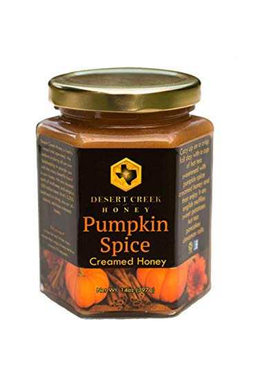 desert creek pumpkin spice creamed honey