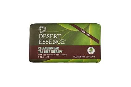 organic tea tree cleansing bar