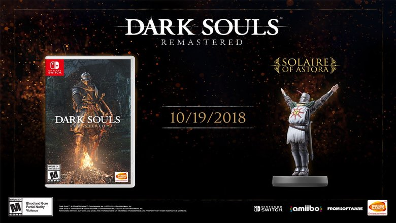 Dark Souls: Remastered Switch Release Date