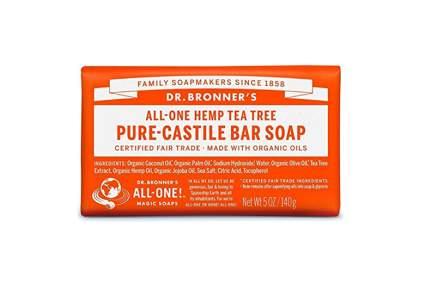 dr. bronner's hemp and tea tree oil soap