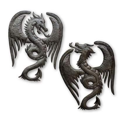 dragon metal wall sculptures