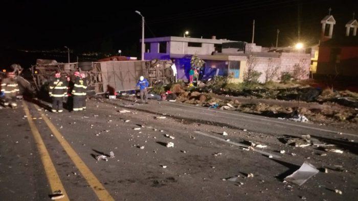 Ecuador bus crash