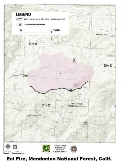 Eel Fire Map