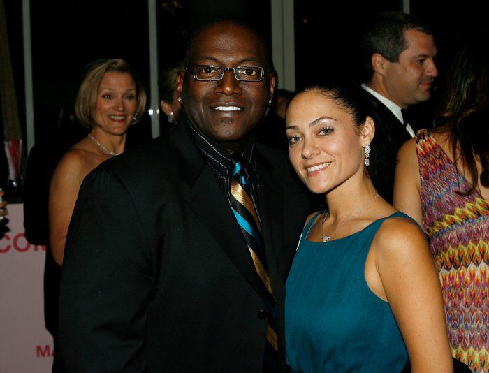Erika Riker Jackson and Randy Jackson