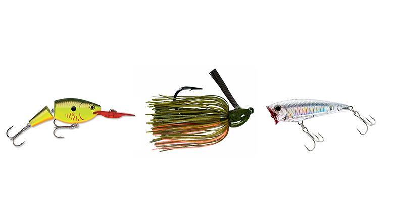 best fall bass lures