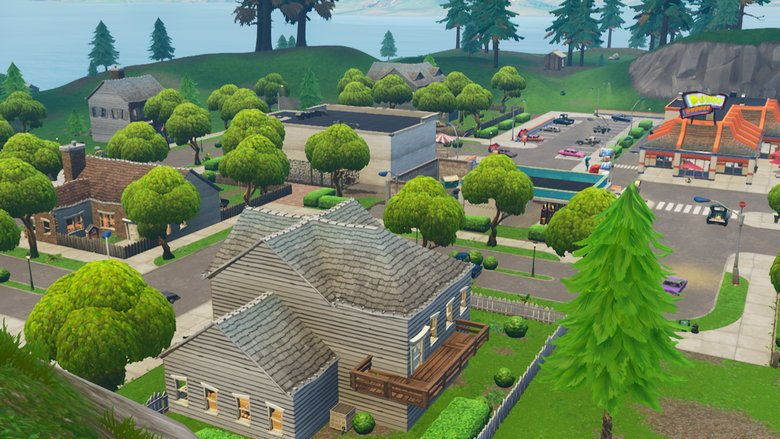 Fortnite Map Snooby Shores Snobby Shores Treasure Map How To Solve Fortnite Week 5 Challenge Heavy Com