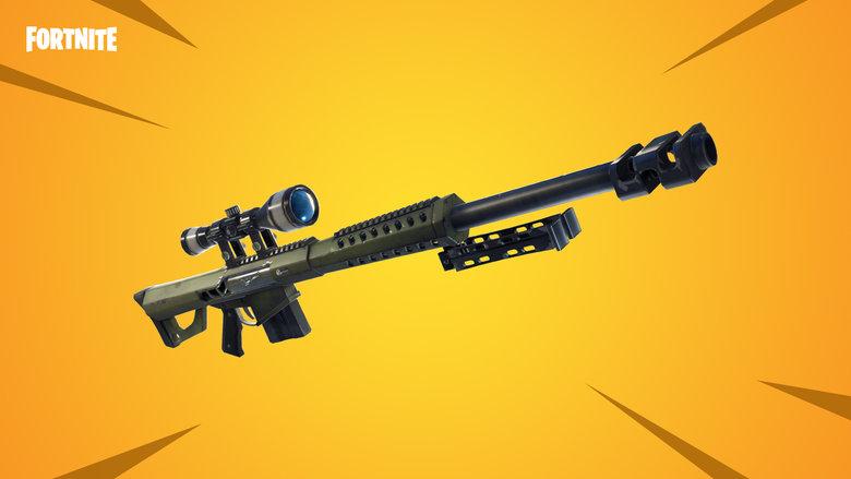 Fortnite Heavy Sniper Patch