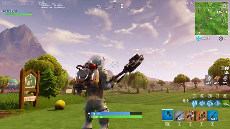 Fortnite Hole 4