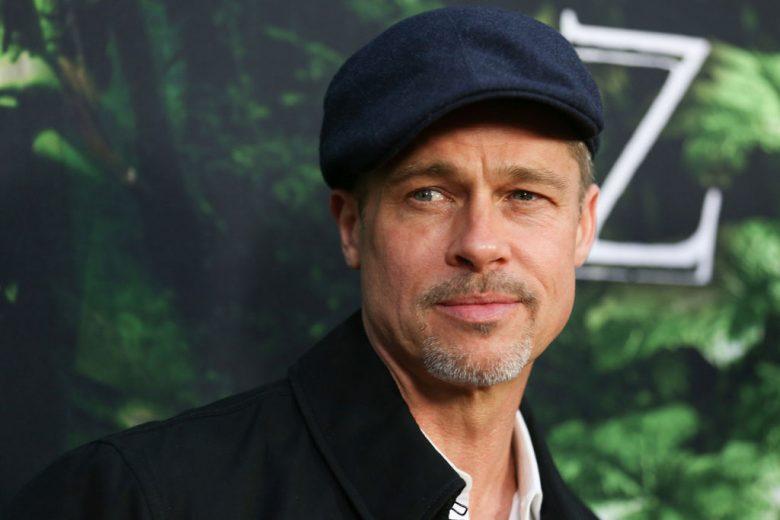 Brad Pitt chid support
