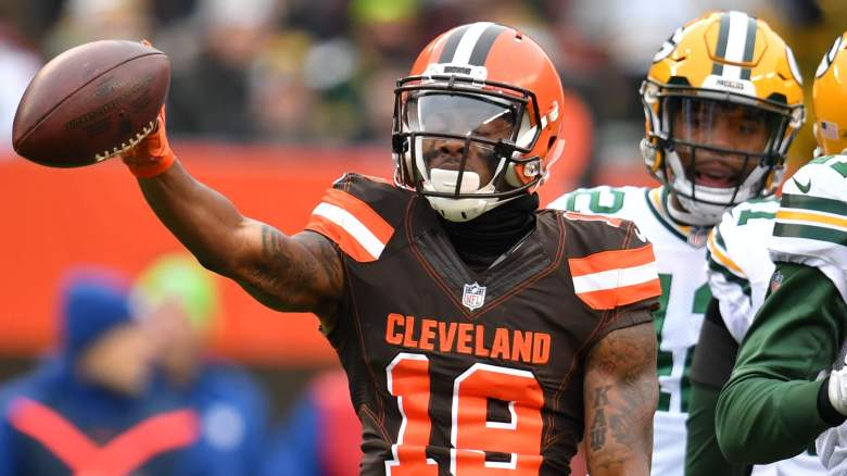 corey coleman trade bills