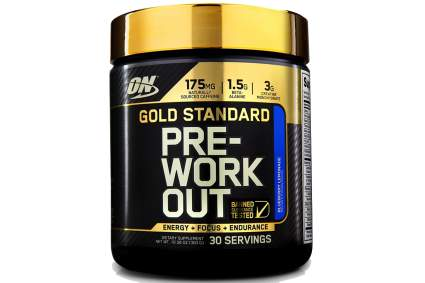 gold standard workout supplement