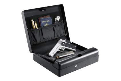 Gunvault biometric gun safe