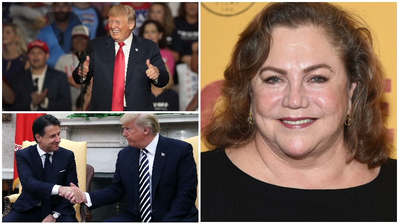 Donald Trump Handshake, Kathleen Turner Gross Handshake Donald Trump