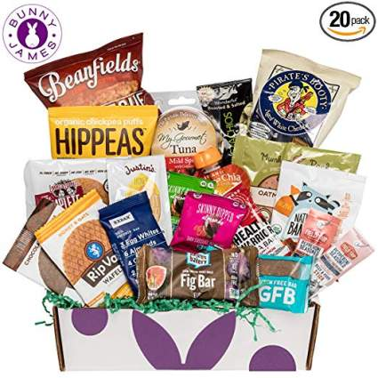 healthy snacks gift baskets