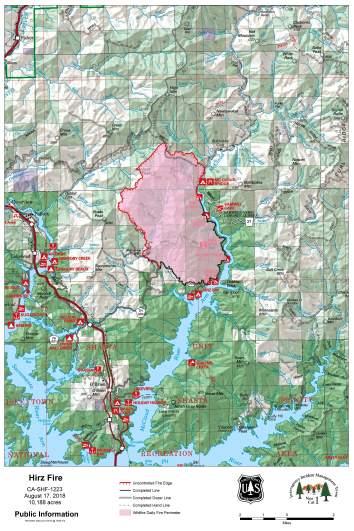 Hirz Fire Map August 17
