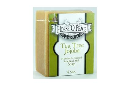 goat milk tea tree and jojoba soap
