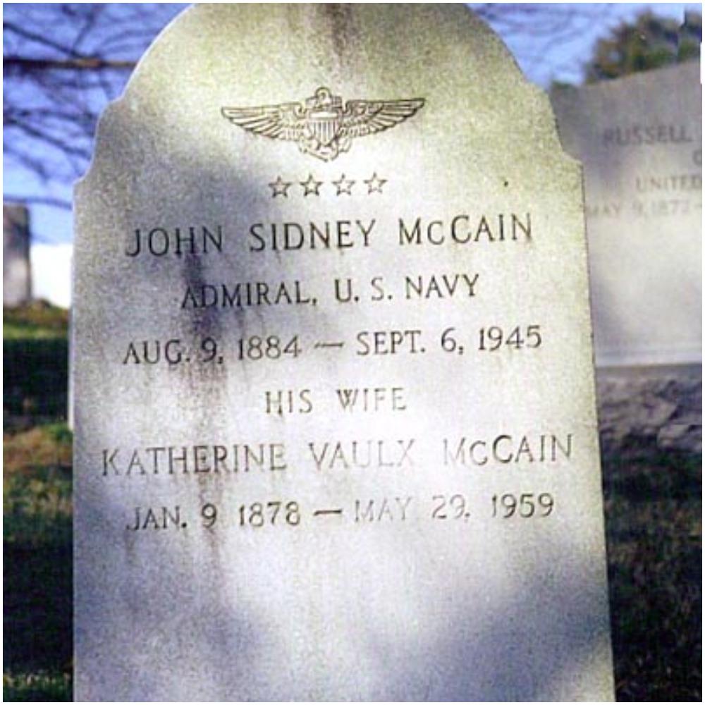 John sidney Mccain senior
