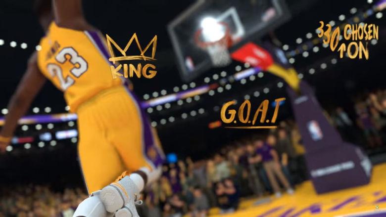 LeBron James Lakers NBA 2K19