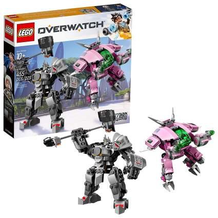 lego overwatch dva reinhardt