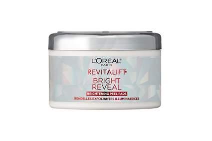 L'Oreal skin brightening pads