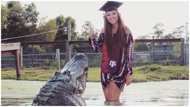 Makenzie Noland alligator