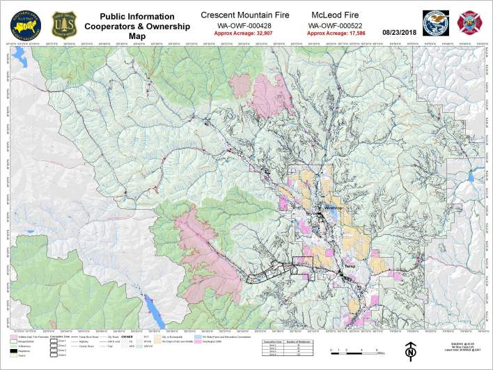 McLeod Fire Map
