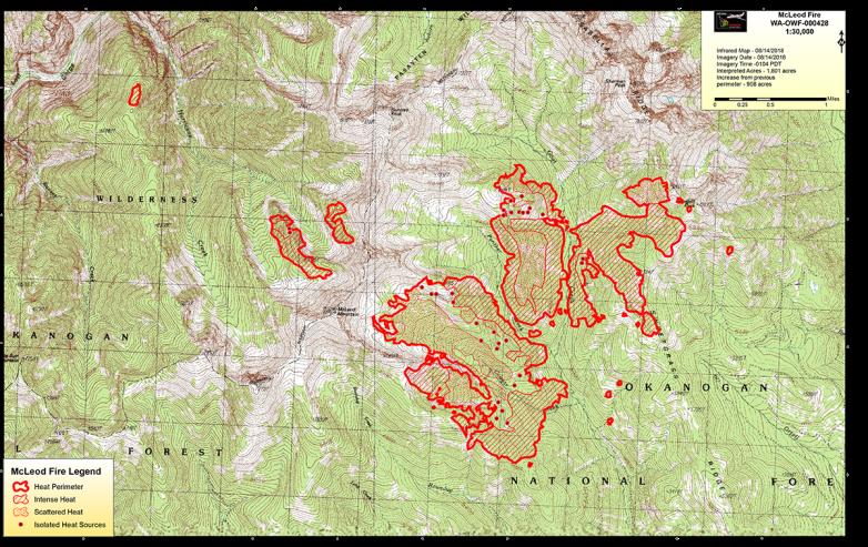McLeod Fire Map