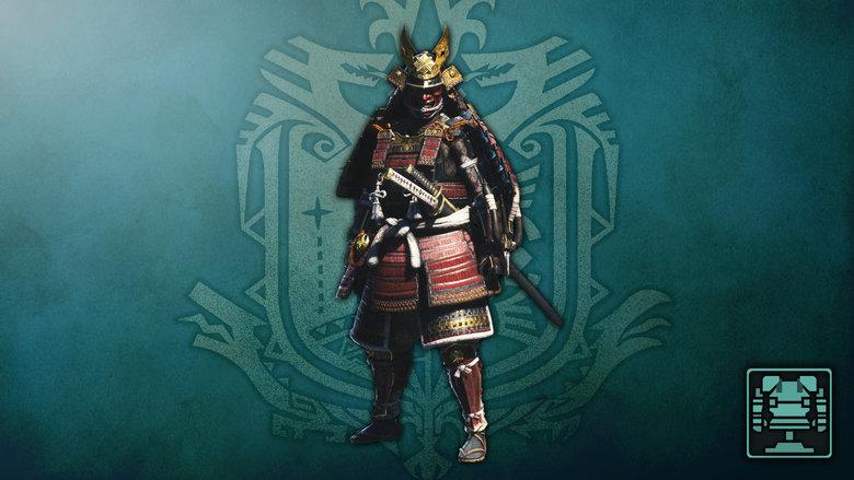 Monster Hunter World Samurai Set