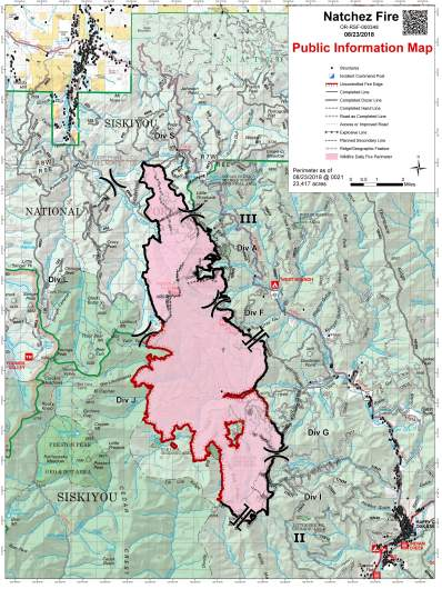 Natchez Fire Map