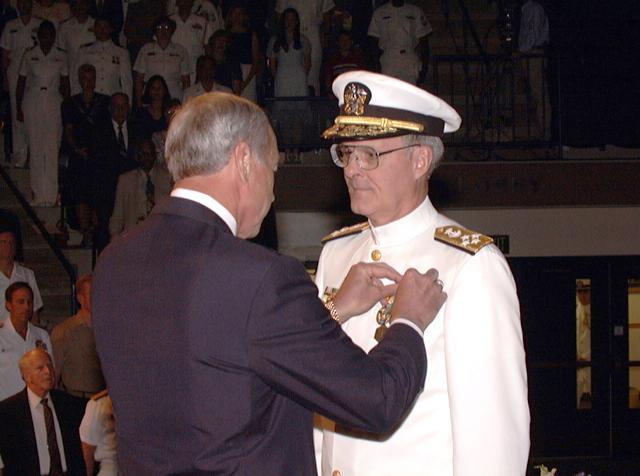 admiral chuck Larson