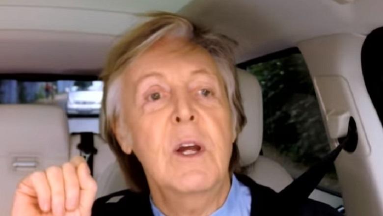 Watch Paul McCartney Carpool Karaoke Online