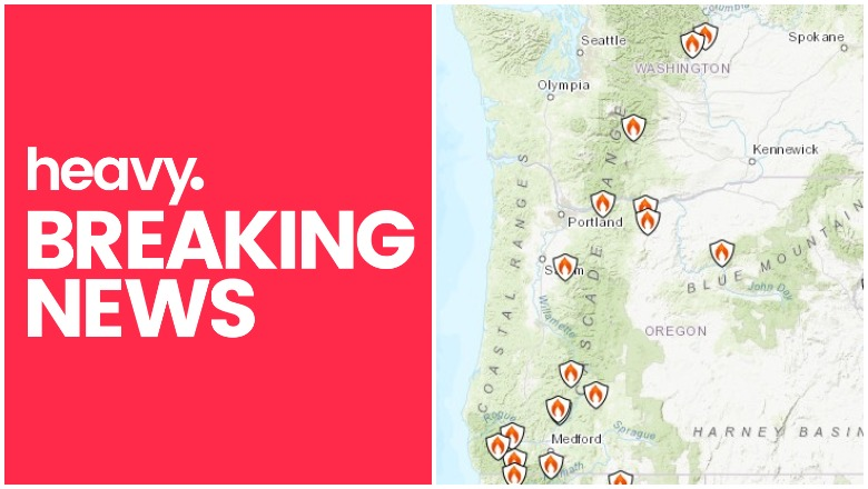 Oregon & Washington Fires