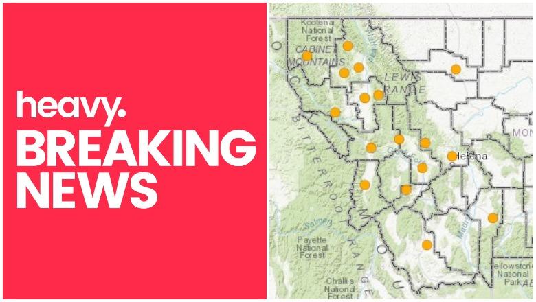 Montana Active Fire Map Montana Fire Maps: Fires Near Me & Containment [August 21] | Heavy.com