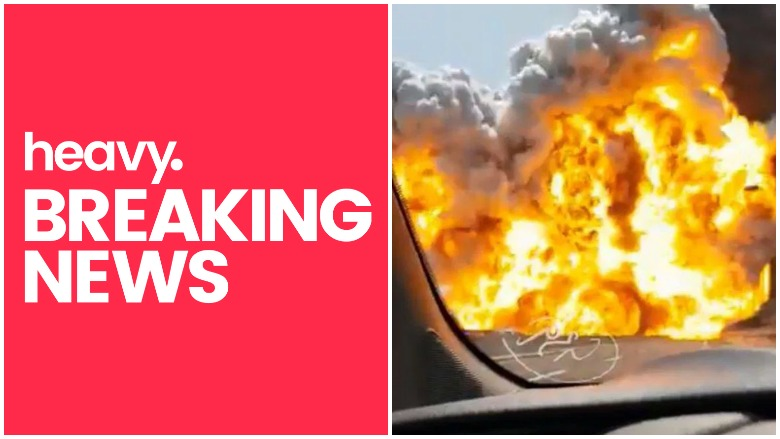 WATCH Bologna Motorway Explosion