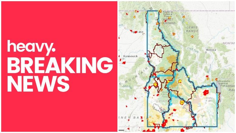 Idaho Fire Map Near Me